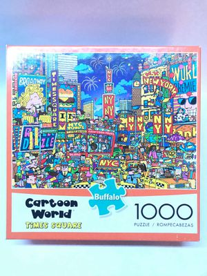 Cartoon World Times Square - 1000 Pc Puzzle for Sale in Clearwater, FL