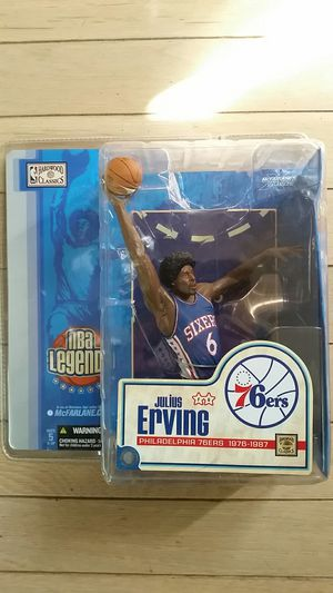 Julius Erving Action Figure for Sale in Toms River, NJ