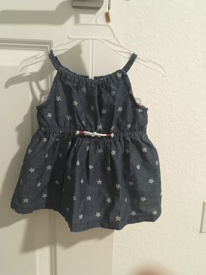 Carters newborn dress with diaper cover for Sale in Lake Worth, FL
