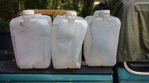 Five gallon water containers for Sale in Rincon, GA
