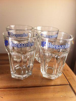 Hoegaarden Beer Four-Piece Glassware Set for Sale in Nashville, TN