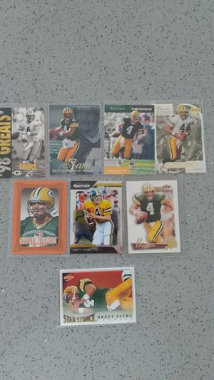 Brett Favre football cards for Sale in South San Francisco, CA