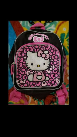 Hello kitty backpack $8.00 or best offer PICK UP ASAP for Sale in San Bernardino, CA