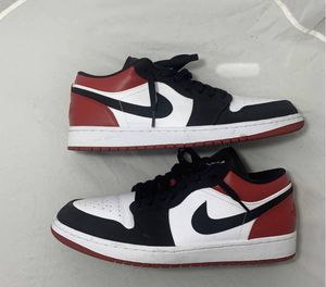 "air jordan 1 low ""black toe"" size 12.5 slightly used for Sale in Columbus, OH"