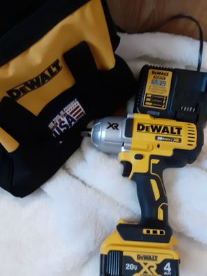 Impact 1/2inch 20z 3speed, high torch battery and charger with new bag, great for and hard working man, handy man ,even the get it done woman. for Sale in West Jordan, UT