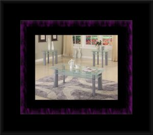 Glass white coffee table for Sale in Manassas, VA