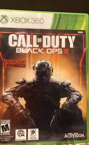 Call of duty black ops 3 (Xbox 360) for Sale in Nipomo, CA
