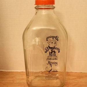 Broguiere's Milk Glass Jar for Sale in Lomita, CA