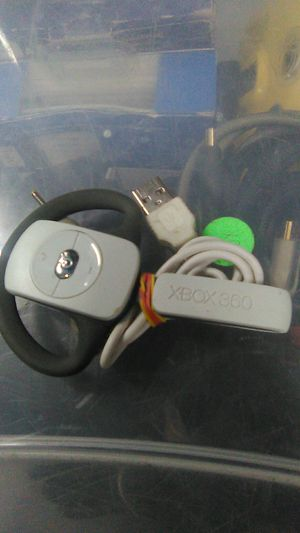 Microsoft Xbox 360 wireless headset with charging cord for Sale in Houston, TX
