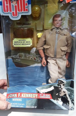 Gi Joe: John F Kennedy: 12 inch action figure for Sale in Lilburn, GA