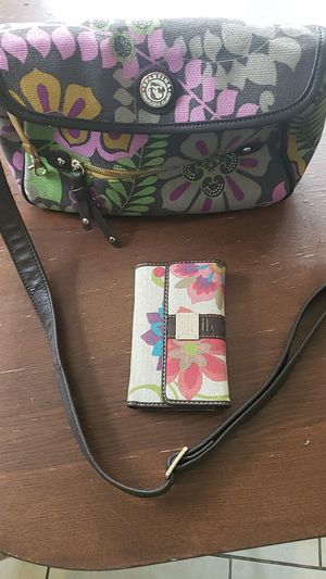 Spartina daufuskie island purse hand bag wallet flowers for Sale in Portland, OR