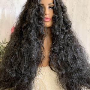LONG Black Soft Wavy Natural WIG Super Thick for Sale in West Hollywood, CA
