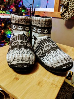 Nightmare Before Christmas Slipper Boots for Sale in Cashmere, WA