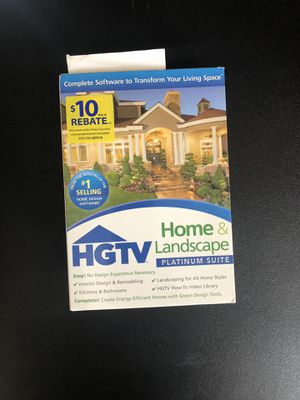 HGTV Home & Landscape Software for Sale in Palo Alto, CA