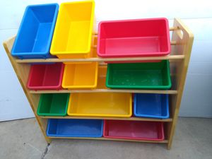 Kids toys shelf organizer for Sale in San Antonio, TX
