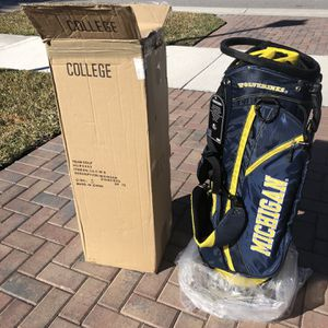 Michigan Golf Bag for Sale in West Palm Beach, FL