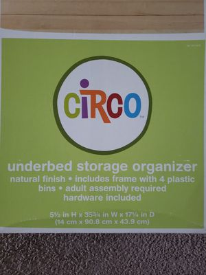 New Underbed storage container - unopened box for Sale in Reynoldsburg, OH