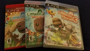Little Big Planet 1, 2, 3 for Sale in Williamsport, PA