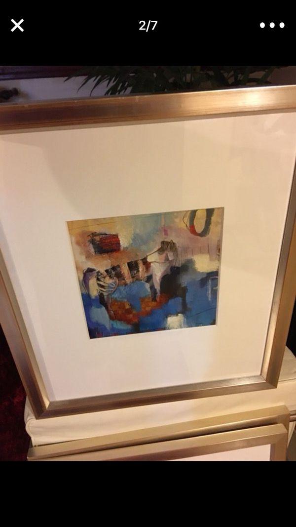 Contemporary art selection