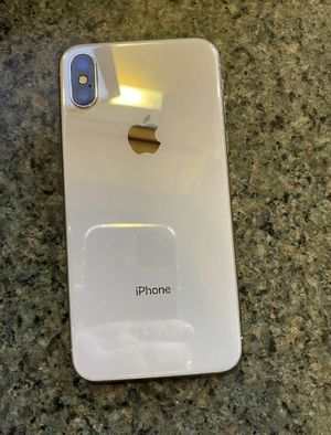 iPhone X 64 g. Pick up only Clementon nj 08021 for Sale in Laurel Springs, NJ