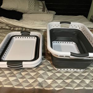 3 Collapsible Laundry Baskets for Sale in Port St. Lucie, FL