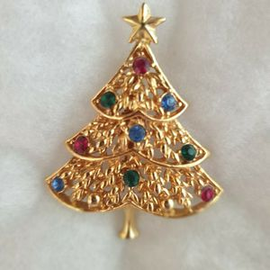 Christmas_Gold Brooch EISENBERG ICE COLLECTION for Sale in Windermere, FL