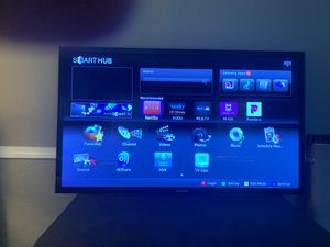 55 inch Samsung tv and sound bar with subwoofer for Sale in San Jose, CA