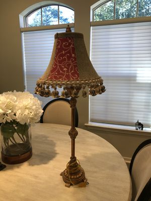 Bombay lamp for Sale in The Woodlands, TX