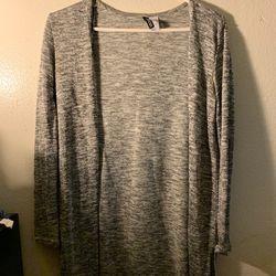 H&M Grey Long Sleeve Cardigan for Sale in San Bernardino,  CA