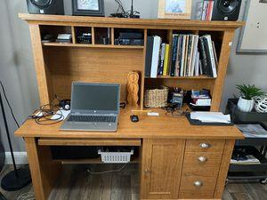 Desk with hutch for Sale in Sacramento, CA