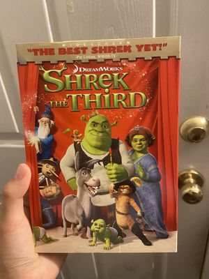 BRAND NEW sealed shrek the third dvd for Sale in Wildomar, CA