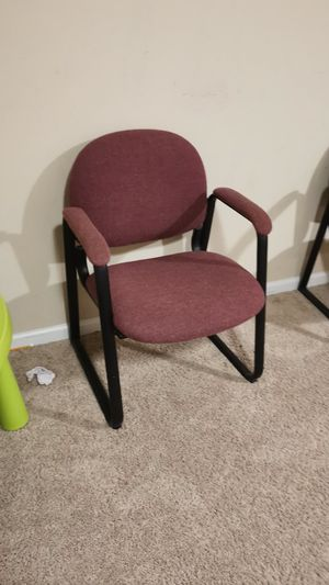 2 Red Office chair for Sale in North Potomac, MD