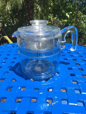 Vintage Pyrex glass coffee percolator for Sale in Fort Lauderdale, FL