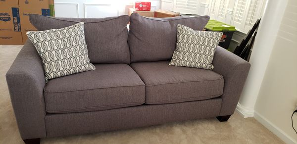 Sofa and loveseat. 100.00 cash only