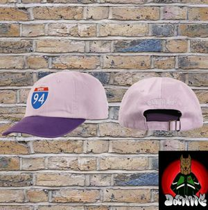 Supreme interstate 6-panel hat purple for Sale in Fontana, CA