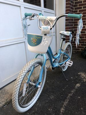 Girls bike with basket and bell for Sale in Fairfax, VA