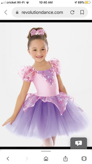 Revolution Dance Princess Costume, Recital, Look like Rapunzel from Tangled for Sale in Roselle, IL