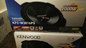Kenwood subwoofer for Sale in Hyattsville, MD