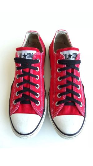 Red Converse All Star Low Top Men's Sz 6 Womens Sz 8 for Sale in Dallas, TX