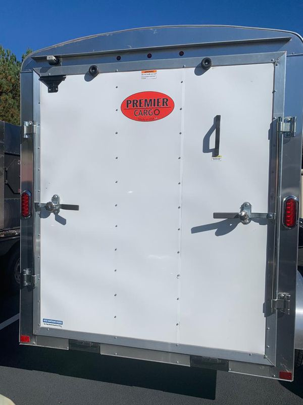 Enclosed Trailer 2021 - 6x12 2 Axel
