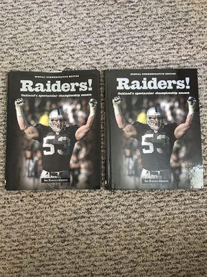 Raiders 2003 Super Bowl Book for Sale in Santa Maria, CA