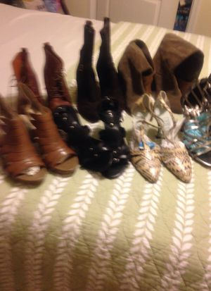 shoes and boots 7 pairs Designer for Sale in Crofton, MD