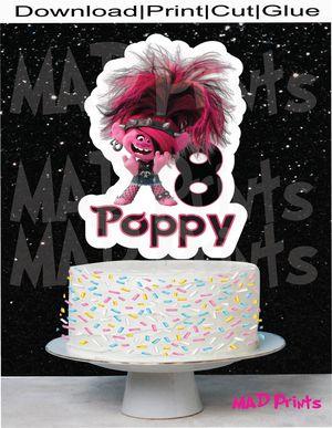 Personalized Rocker Poppy Cake Topper for Sale in Oakland Park, FL