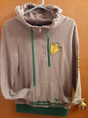 """Pink"" oregon duck half zip hoodie for Sale in Gresham, OR"
