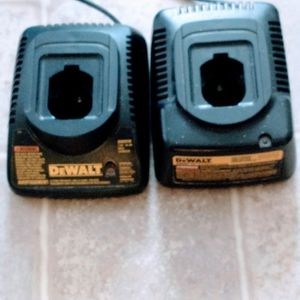 Dewalt Chargers 14.4 Volt 2 For 1 Price for Sale in Manheim, PA