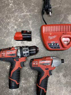 Milwaukee 12v Drill And Impact for Sale in Washougal,  WA