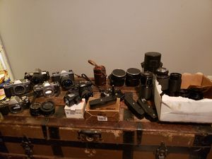 Camera collection for Sale in Vancouver, WA