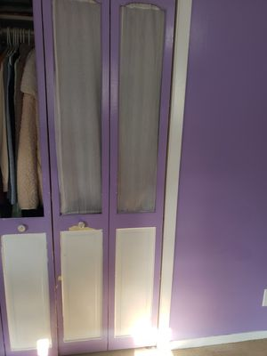 Closet doors 78.25 inches by 23.25 inches for Sale in New Haven, CT