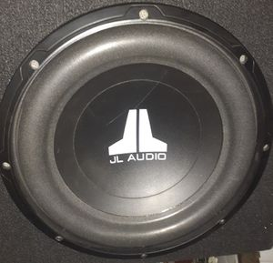 Jl Audio 12 for Sale in Los Angeles, CA