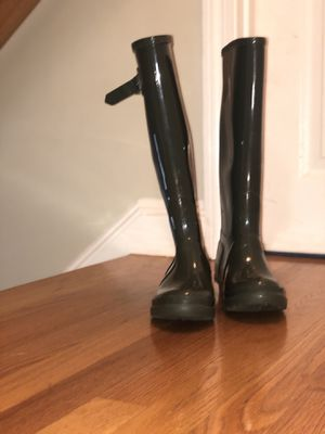 Hunter Green rain boots for Sale in Lowell, MA